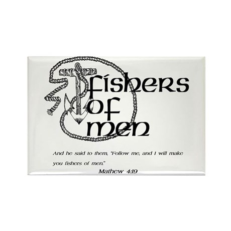 Fishers of Men Rectangle Magnet (100 pack)