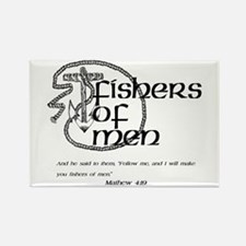 Fishers of Men Rectangle Magnet (10 pack)