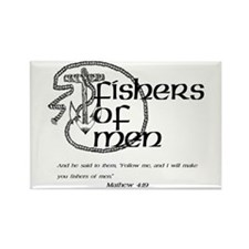 Fishers of Men Rectangle Magnet