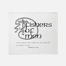 Fishers of Men Throw Blanket