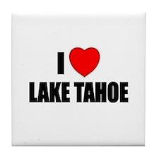 Cute Lake tahoe Tile Coaster