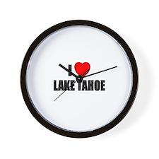 Cute Lake tahoe Wall Clock