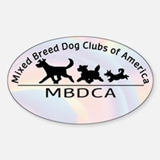 Mixed Breed Dog Club of Ameri Sticker (Oval)