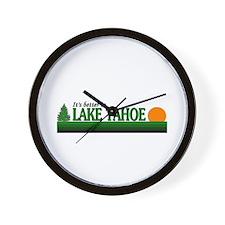 Unique Lake tahoe Wall Clock