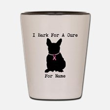 French Bulldog Personalizable I Bark For A Cure Sh