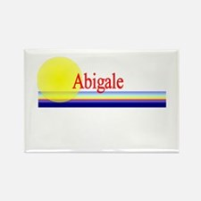 Abigale Rectangle Magnet