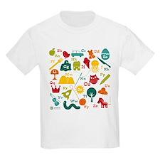 Alphabet 7x7 T-Shirt
