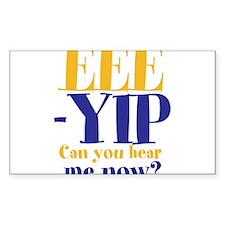 EEE-YIP Decal