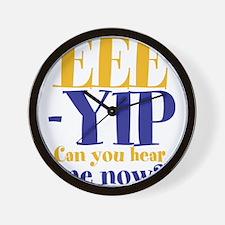 EEE-YIP Wall Clock