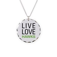 Live Love Hawks Necklace