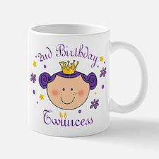 2nd Birthday Twincess Mug
