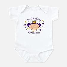 3rd Birthday Twincess Infant Bodysuit
