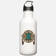 Turquoise Tortoise Dreamcatcher Water Bottle