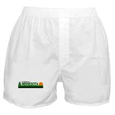 Cute Minnesota gophers Boxer Shorts