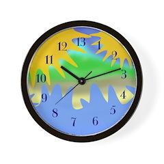 Sun and Waves Thirteen Hour Clock