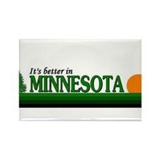Cute Minnesota golden gophers men's Rectangle Magnet