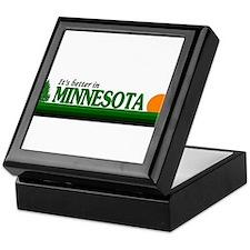 Cute Minnesota golden gophers Keepsake Box