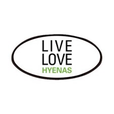 Live Love Hyenas Patches