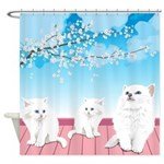 Kitties Shower Curtain