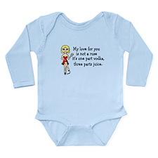 Love Buzz Long Sleeve Infant Bodysuit