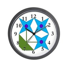 Pot of Snowdrops Wall Clock
