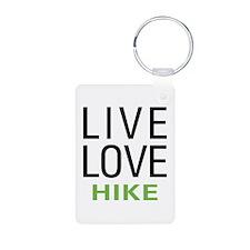 Live Love Hike Keychains