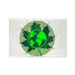 Earth Day, Technical Rectangle Magnet (100 pack)