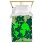 Earth Day, Technical Twin Duvet