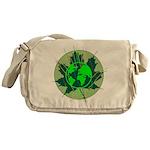 Earth Day, Technical Messenger Bag
