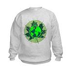Earth Day, Technical Kids Sweatshirt