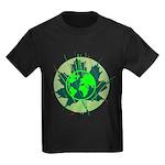 Earth Day, Technical Kids Dark T-Shirt