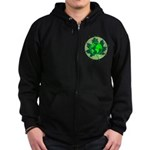 Earth Day, Technical Zip Hoodie (dark)