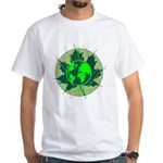 Earth Day, Technical White T-Shirt