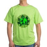 Earth Day, Technical Green T-Shirt