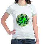 Earth Day, Technical Jr. Ringer T-Shirt