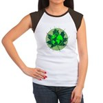 Earth Day, Technical Women's Cap Sleeve T-Shirt