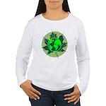 Earth Day, Technical Women's Long Sleeve T-Shirt