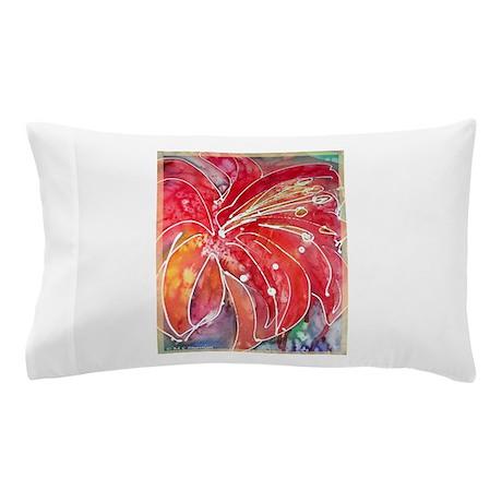 Lily, bright, flower art! Pillow Case