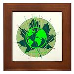 Earth Day, Technical Framed Tile