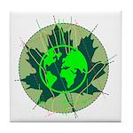 Earth Day, Technical Tile Coaster