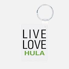 Live Love Hula Keychains