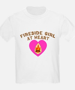 Fireside Girl at Heart T-Shirt