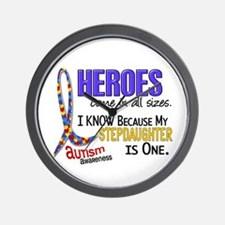 Heroes All Sizes Autism Wall Clock