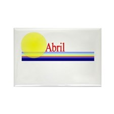 Abril Rectangle Magnet