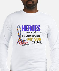 Heroes All Sizes Autism Long Sleeve T-Shirt