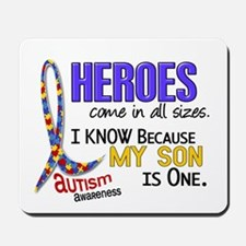 Heroes All Sizes Autism Mousepad