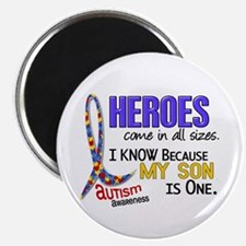 "Heroes All Sizes Autism 2.25"" Magnet (100 pack)"