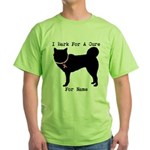 Siberian Husky Personalizable I Bark For A Cure Gr