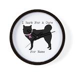 Siberian Husky Personalizable I Bark For A Cure Wa