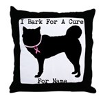 Siberian Husky Personalizable I Bark For A Cure Th